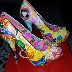 Iron Fist Sweets for my Sweet sz 7 heels